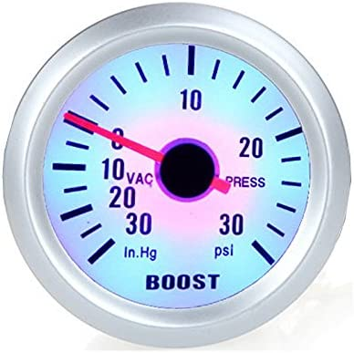 KKmoon Turbo Boost Vacuum Press Gauge Meter