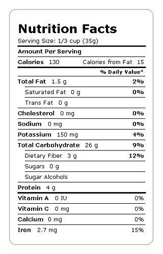Millet Flour, Organic & Local - 25 Lbs