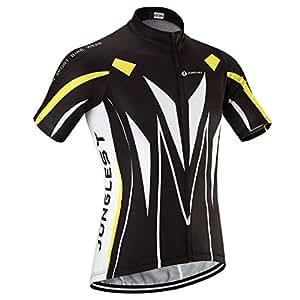 (maillot tamaño:M) Ciclismo Mangas rápido cortas Respirable de ciclo aire bicicleta libre al Trajes secado Maillot Jersey ciclistas jerseys cómoda