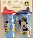 Two Mickey Mouse Sipper Cups for Toddlers, Baby & Kids Zone