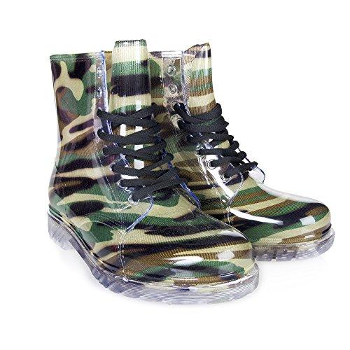clear rain boots women - 5
