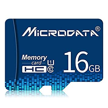 ZHU Almacenamiento de Datos Tarjeta de Memoria 16GB U1 Blue ...