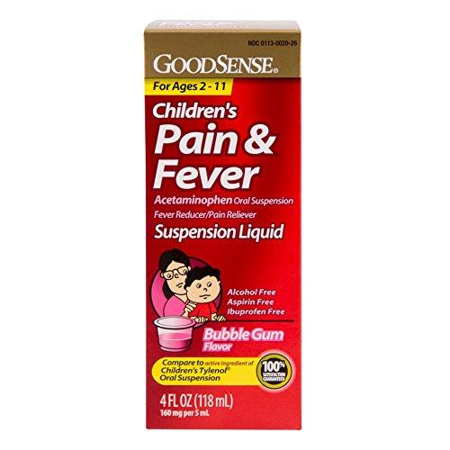 GoodSense Acetaminophen Children s Pain Reliever O…