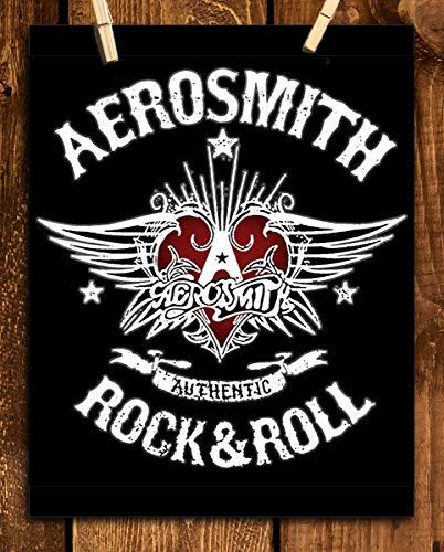 - Aerosmith Band- Logo Poster Print