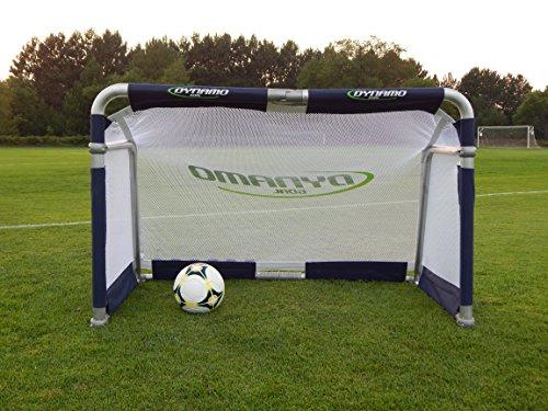 Dynamo Backyard Folding Portable Soccer Goal by Bounce Athletics - Dynamo Backyard Folding Portable Soccer Goal Atlantic United Soccer