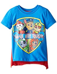Nickelodeon Boys' Paw Patrol Small But Tough Cape T-Shirt