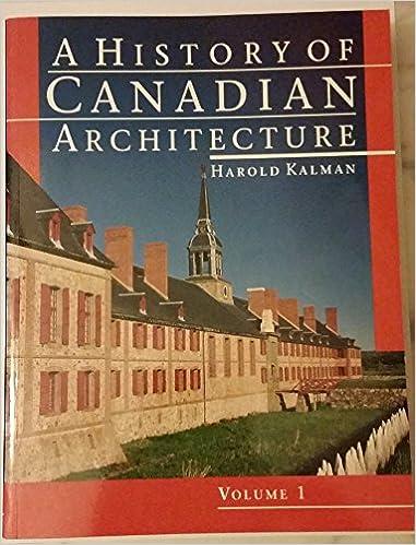 Easy books téléchargement gratuit History of Canadian Architecture en français