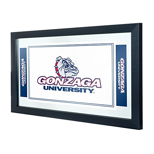 Trademark Gameroom NCAA Gonzaga University Framed Logo Mirror by Trademark Gameroom