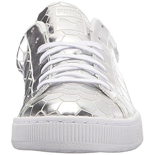 6fa301e449c0 PUMA Men s Basket Classic Metallic Fashion Sneaker delicate - scott ...