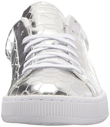 PUMA Men's Basket Classic Metallic Fashion Sneaker