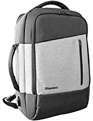 18L Business Laptop Backpack | Smart Backpack with USB charging port and anti-theft design for Professionals,...