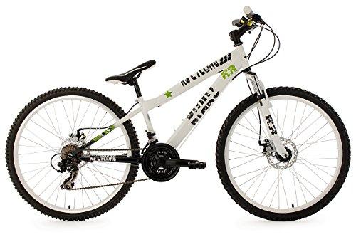 KS Cycling Fahrrad Mountainbike Dirt Dirrt RH 33 cm, Weiß, 26, 110B