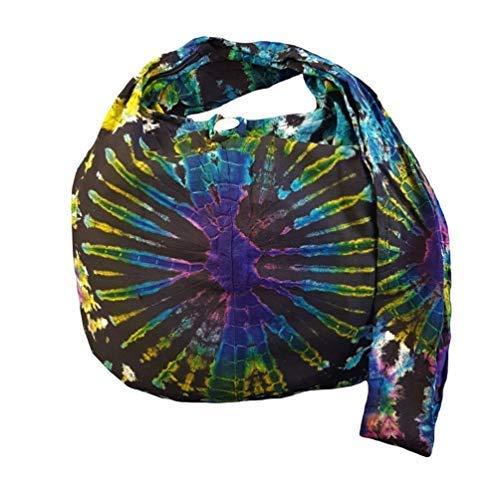 BenThai Products BTP! Tie Dye Sling Crossbody Shoulder Bag Purse Hippie Hobo Cotton Bohemian - Firework VE1