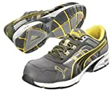 Athletic Work Shoes, Comp, Mn, 10, Gry, PR