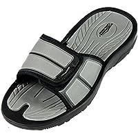 brand new d3613 d24b0 SLR BRANDS Men s Slides Slip On Sandal Slipper Comfortable Shower Beach  Shoe Flip Flop