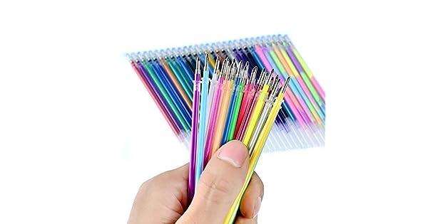 Amazon.com: Ymout 24/48 Recambios de bolígrafo de gel para ...