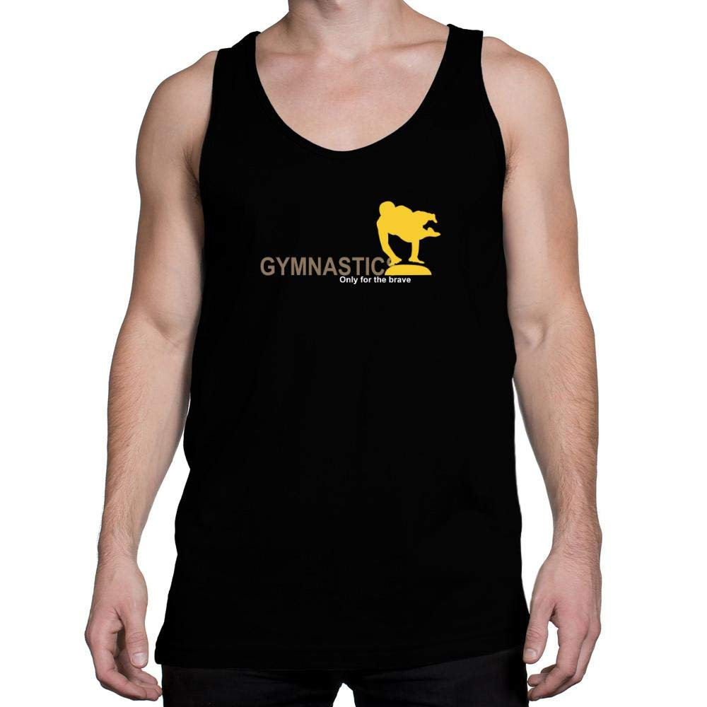 Idakoos Gymnastics Only for The Brave Tank Top
