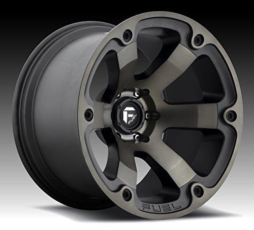 17x9 Rims (Fuel Offroad D564 Beast 17x9 6x139.7 -12mm Black/Machined Wheel Rim)