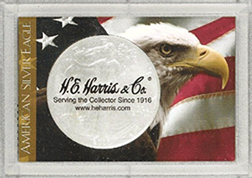 Harris 2×3 Eagle & Flag Holder – SILVER EAGLE