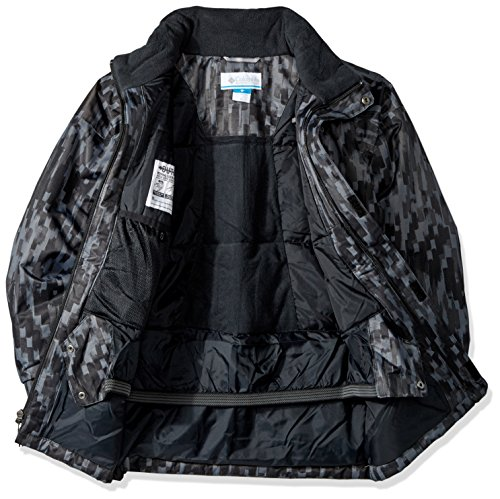 bright Strokes Boy Blue Hyper Waterproof 'twist Brushed Black Jacket Pizzo Columbia dXFqvwYv