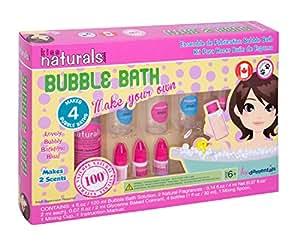 Kiss Naturals all natural bubble bath making kit - satisfaction guarantee