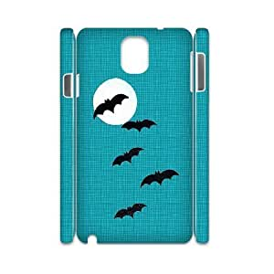 3D Samsung Galaxy Note 3 Case, Bats Hard Case For Samsung Galaxy Note 3(White) Yearinspace119244