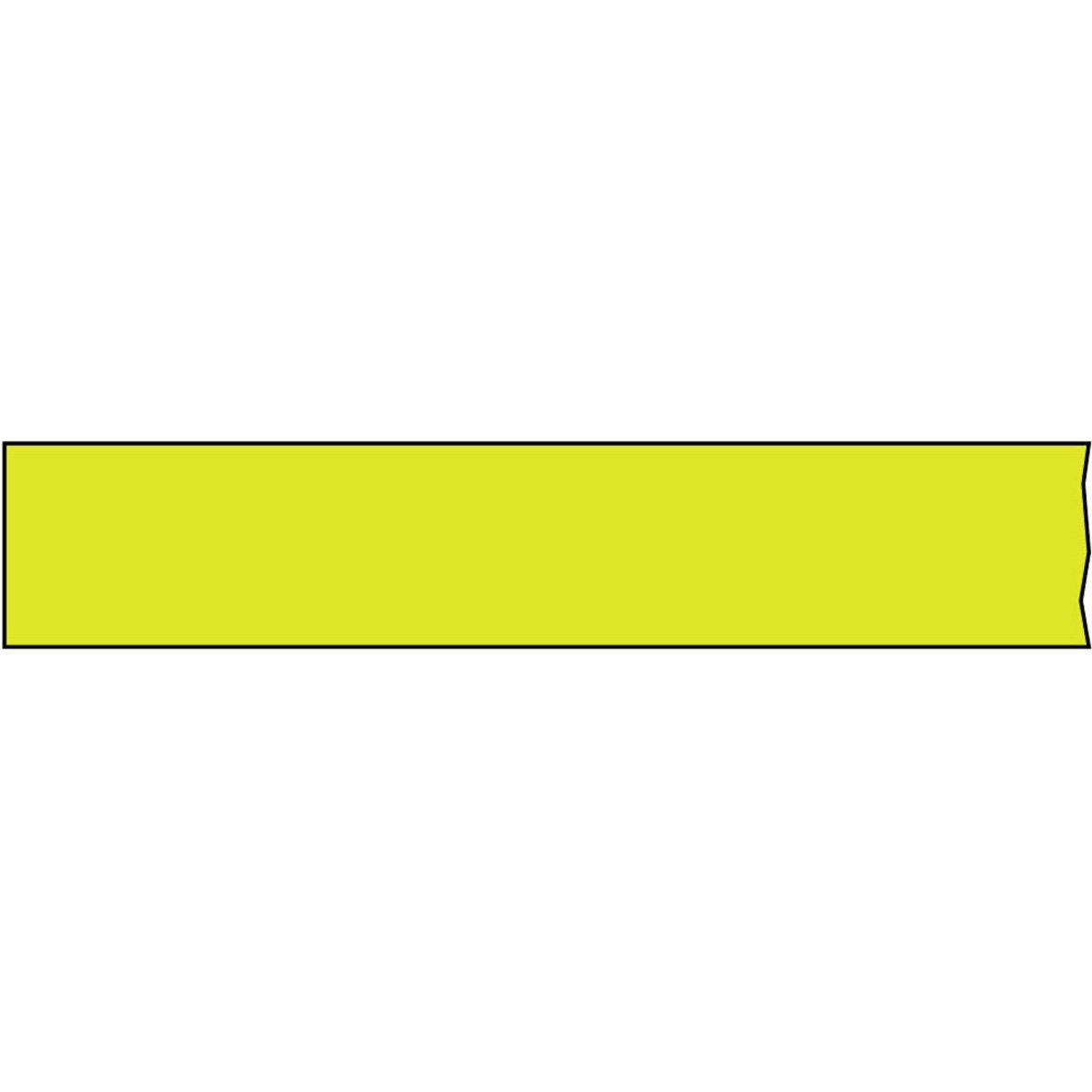 TIMETAPE T-3460-17 Tape, Removable, 3'' Core, 3/4'' x 2160'', Imprints Chartreuse (Pack of 1)