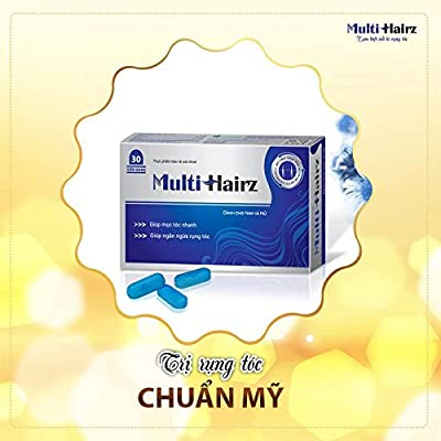 04 boxes *30 tablets - Hair grows more hair - THUỐC MỌC TÓC HEALTH PROTECT FOOD MULTI HAIRZ