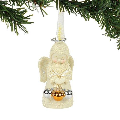 "Department 56 Snowbabies Ornaments - Department 56 Snowbabies ""Angel of Christmas"" Porcelain Ornament, 3.19"""
