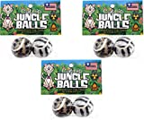 Petsport Catnip Jungle Balls (3 Packs with 2 Balls per Pack / 6 Balls Total)