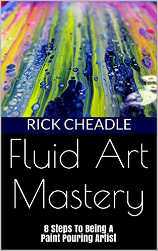 Also known as paint pouring, flow art, liquid art, etc.Is a form of abstract art that uses acrylic paints with a runny (fluid)consistency. The acrylic paints react with each other when combined together  to make interesting and visually  organic moti...