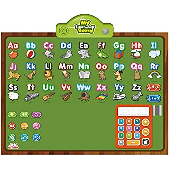 48f4bb97ace4 BEST LEARNING i-Poster My Learning Board - Educational Posters for  Preschoolers   Toddlers 3 to 6 Years Old - ABC Alphabet Preschool Toddler  Kids ...