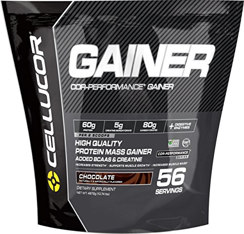 Cellucor Cor-Performance 56 Servings Mass Gainer Protein Powder Supplement, Chocolate, 4872 Gram
