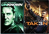 Taken 3 & Unknown Liam Neeson Crime Action Movie Set