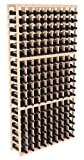 Cheap Wine Racks America Ponderosa Pine 9 Column Wine Cellar Kit. Unstained