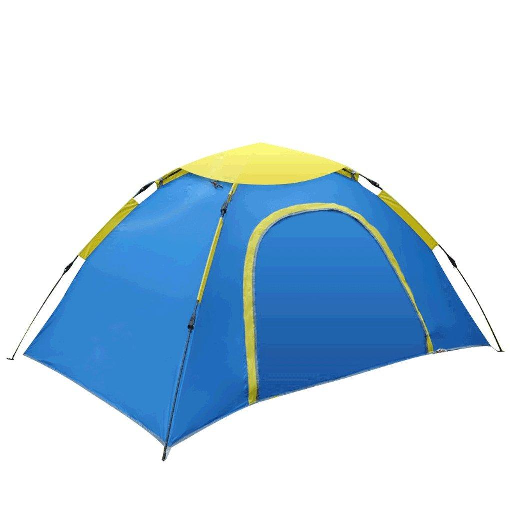 TLMY Entièrement Automatique Tente épaissie étanche à la Pluie Deux Chambres Une Chambre Double Camp Sauvage équipement Camping Tente des tentes