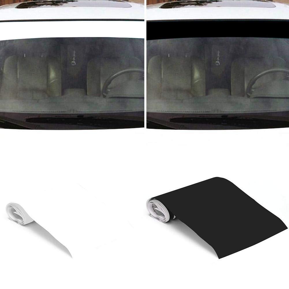 6 x 60 Barra de protecci/ón solar Parabrisas para el autom/óvil Panel antirreflejo contra el sol Tira para visera Tira para sol Cinta para protecci/ón contra parabrisas F/órmula resistente a ara/ñazos
