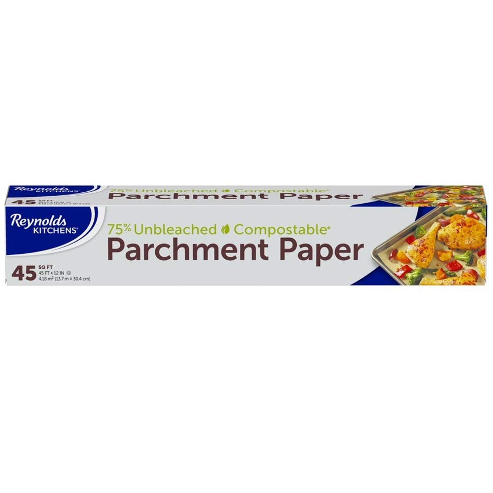 Reynolds Kitchens Unbleached Parchment Paper, 45 Square Feet