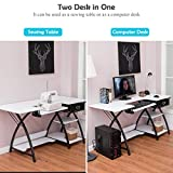 Costway Adjustable Sewing Craft Table with