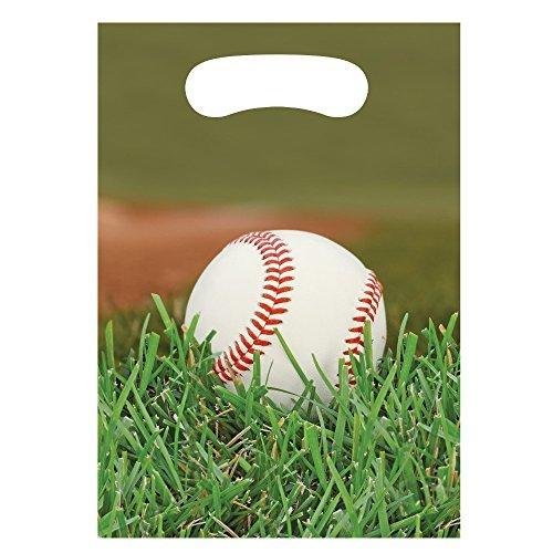 (Creative Converting Baseball Fanatic Treat Bags (8 ct))