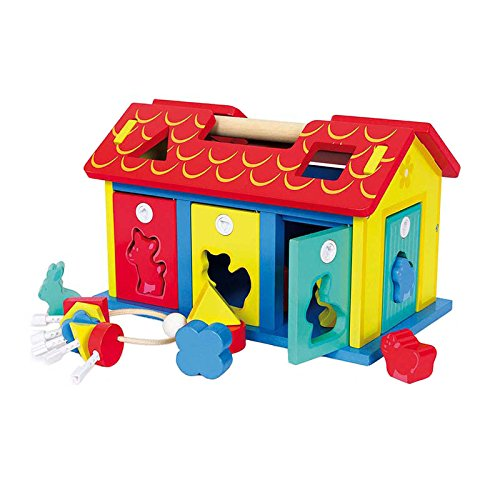 Shape-Sorter House ''Animals and Shapes'' by small foot baby