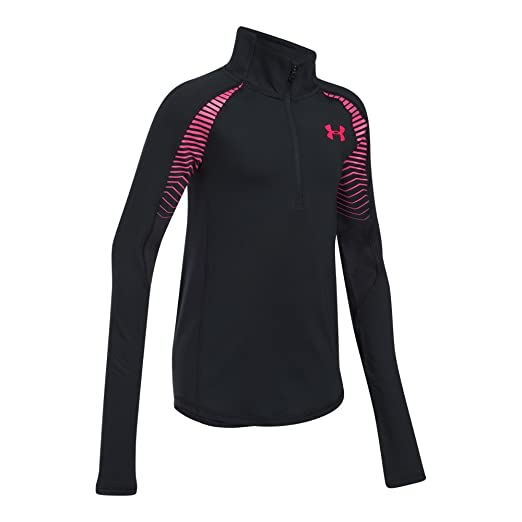 16f99d70f Amazon.com: Under Armour Girls ColdGear Reactor 1/2 Zip: Clothing
