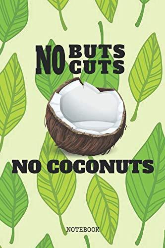 Notebook: I Love Coconut Fruit Planner / Organizer / Lined Notebook (6