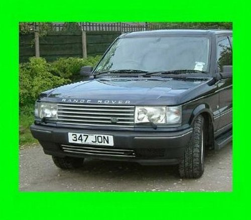 312 Motoring fits Range Rover 1995-2002 Chrome Upper/Lower Grille Grill KIT 1996 1997 1998 1999 2000 2001 95 96 97 98 99 00 01 02 P38 HSE SE 4.0 4.6