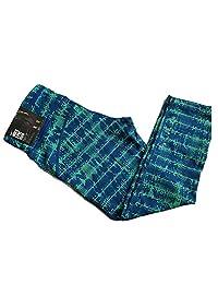 Nike Epic Run Womens Capri Leggings Pants (Small, Green/Blue)