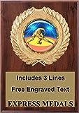 Wrestling Plaque Trophy Award