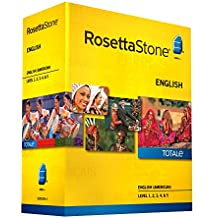 Rosetta Stone English (American) Level 1-5 Set - includes 12-month Mobile/Studio/Gaming Access