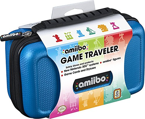 Game Industries Traveler (RDS Industries, Nintendo Amiibo Game Traveler Carrying Case - Blue)
