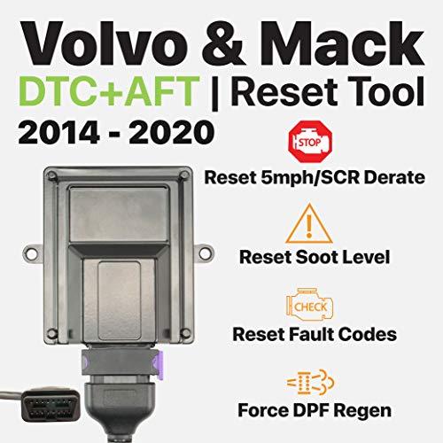 2020 Plugs - OTR Performance Volvo Mack 2014-2020 | Heavy Duty Diagnostic Tool | Forced DPF Regen | Reset Soot Level | Reset SCR Derate | Volvo D11 D13, Mack MP7, MP8 | OBD J1939