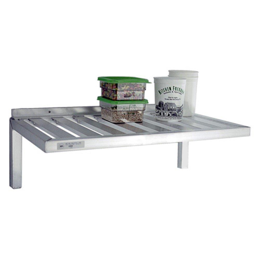 New Age 20W X 48L T-Bar Design Wall Mounted Aluminum Shelf